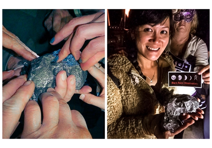 Our 3630g nickel-iron meteorite from Camp Del Cielo