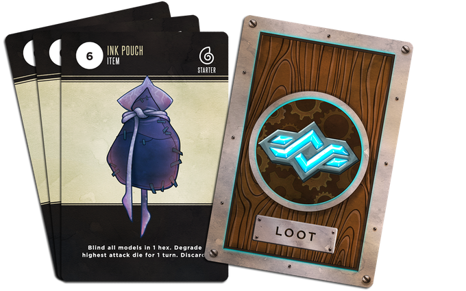 Loot Cards - Armor, Items, Weapons