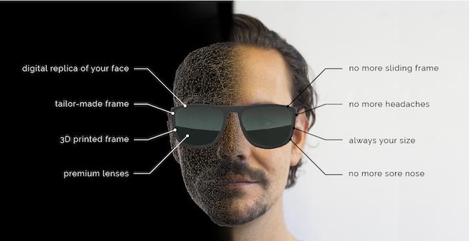 Spersonalizowane oprawki pozwalają uniknąć m.in. nieestetycznych odcisków na nosie