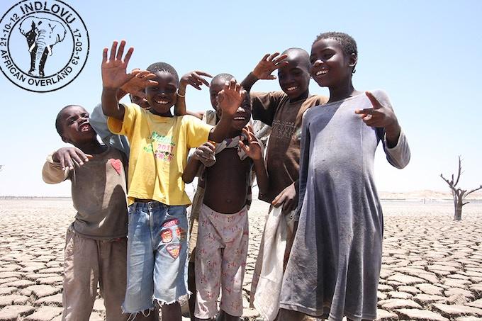 Kids, Namib Desert, Angola