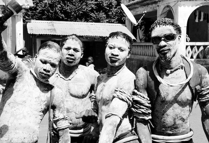 Tribal dancers, Guinea-Bissau
