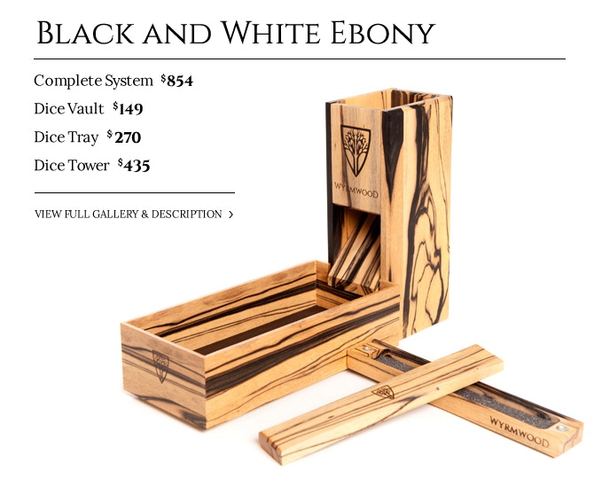Black and White Ebony