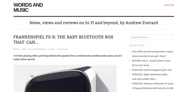 Frankenspiel FS-X: the Bluetooth speaker that can! by