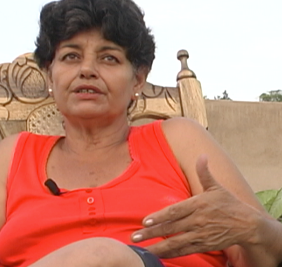 Adria, a divorced fifty-five year-old mother and grandmother who runs a small guesthouse for travelers. The lifting of the embargo will have a profound and positive impact on her life and business.