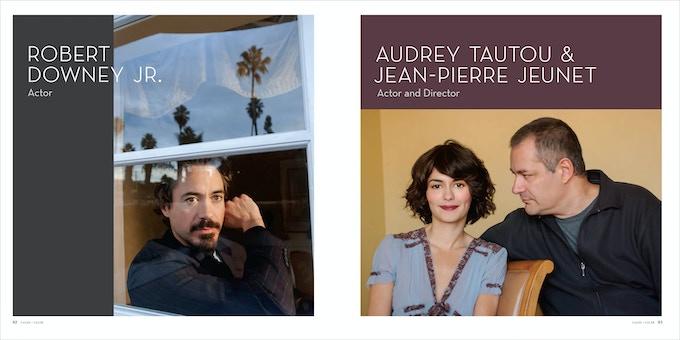 Downey Jr., Tautou & Jeunet.