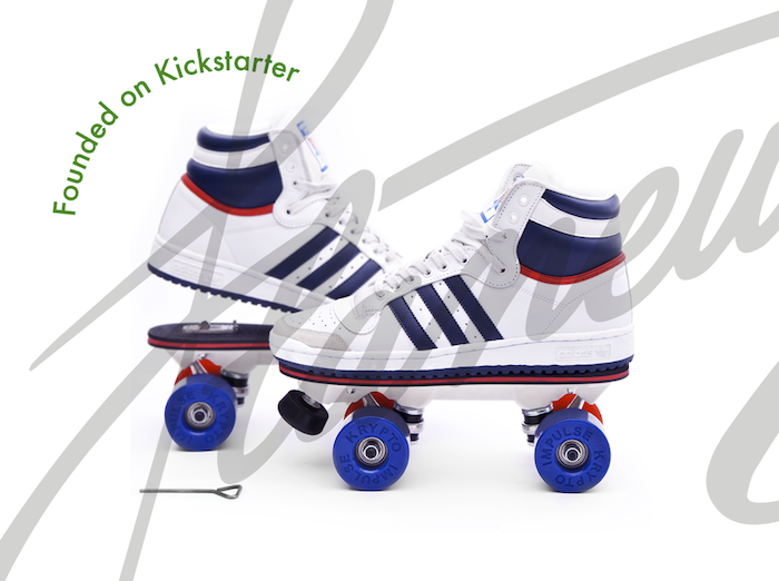 c0c13d4b79b8 On Wheelz by Flaneurz  be the first to turn your favorite shoes into  rollerskates in