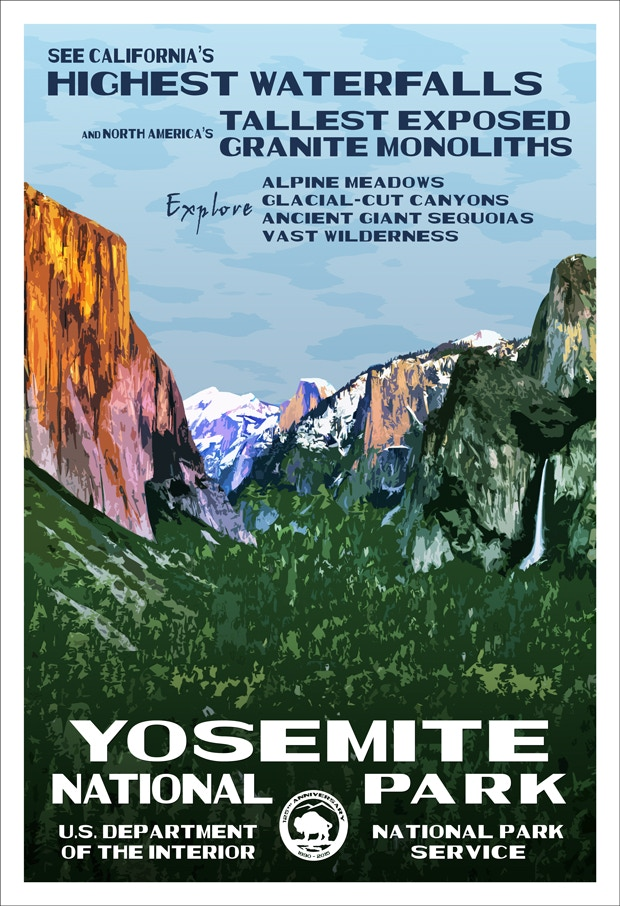 Yosemite National Park 125th Anniversary Limited Edition