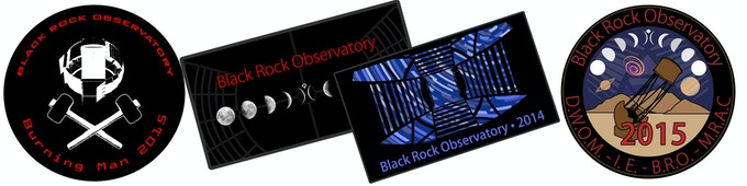 $25 Reward - Black Rock Observatory Patch
