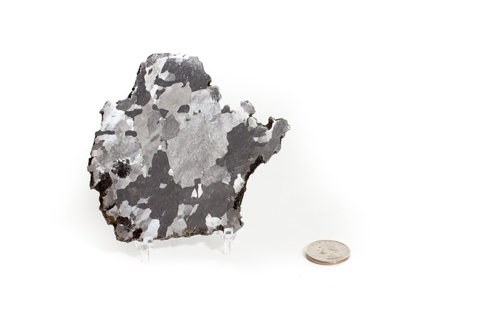 $350 Reward - nickel-iron meteorite (quarter included)