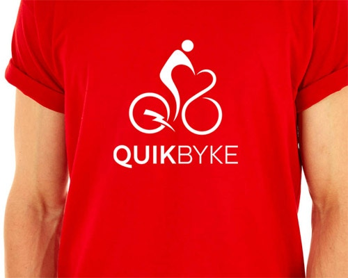Quikbyke T-shirt available for $30 contribution