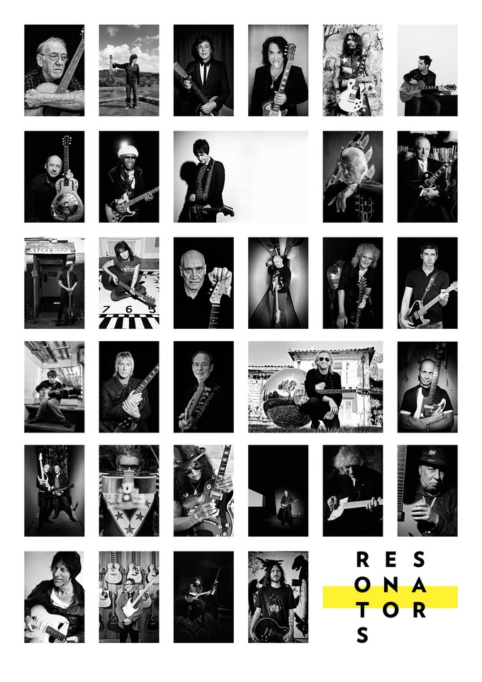 Contact sheet of 20x24 inch prints on offer as rewards