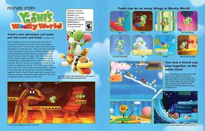 Yoshi's Woolly World Feature Story