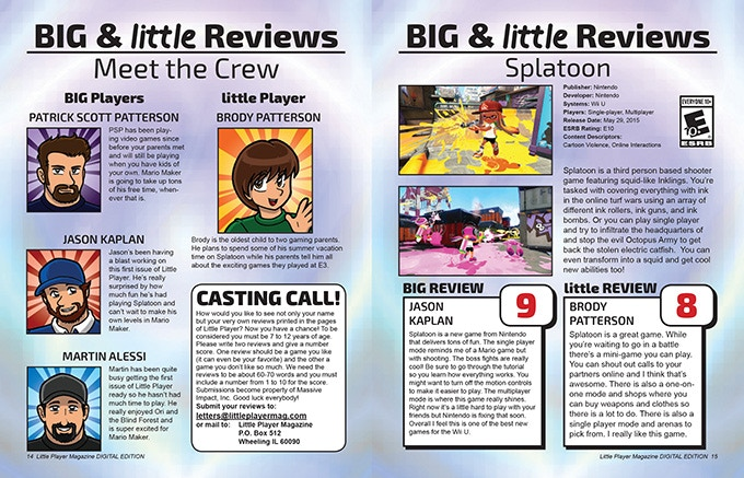 Big and Little Reviews