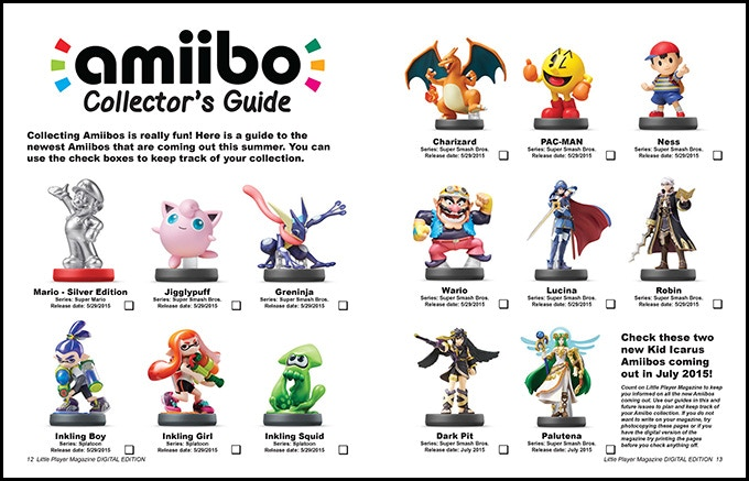 Amiibo Collector's Guide