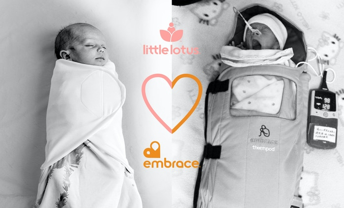 Little Lotus swaddle, sleep bag & blanket feature NASA technology, to keep babies at the perfect temperature, so they rest better.  Buy one, help a baby in need.