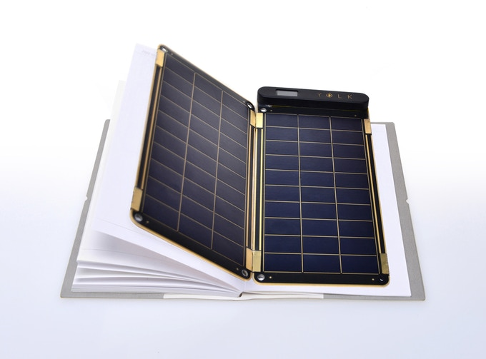 Paper thin & ultra lightweight, Solar Paper is just 0.15-inch thin and 4 oz.