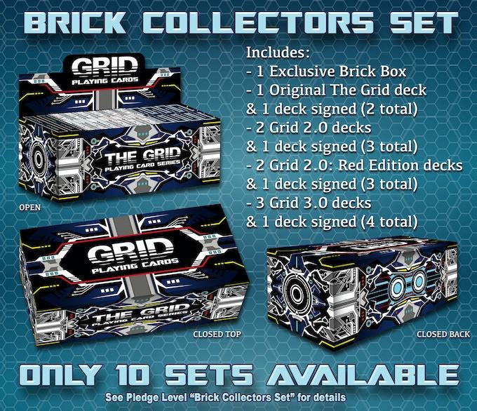 2 The Grid Decks, 3 Grid 2.0 Decks, 3 Grid 2.0 Red Decks & 4 Grid 3.0 Decks total