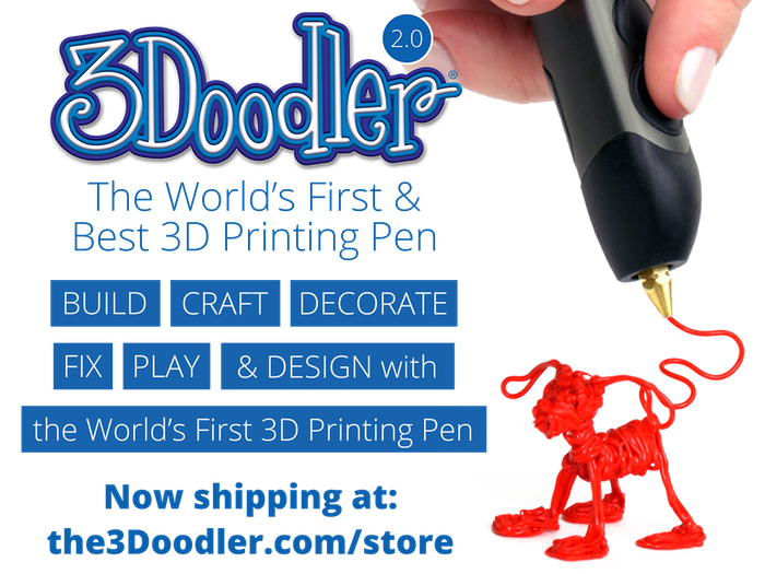 The world's first and best 3D printing pen just got even better.           Lift your imagination off the page all over again!