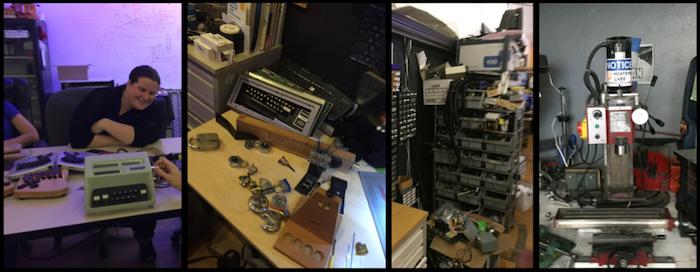 Scenes from HeatSync Labs