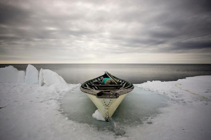 Inupiat Whaling Boat, Kivalina, Alaska
