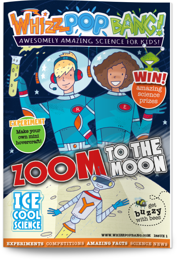 Whizz Pop Bang is a new monthly magazine engaging 6-11 year olds with science! Inspire your child with hours of good clean (well, sometimes messy) science fun in a magazine delivered straight to your door. Sign up through our website...