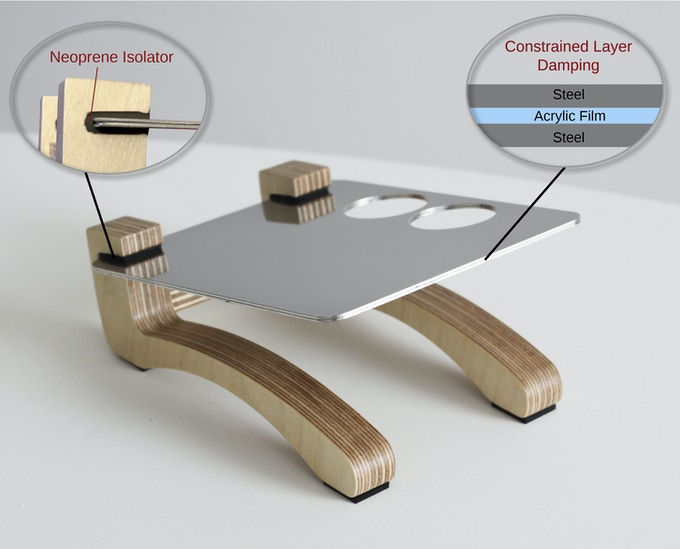 Little Feet - Vibration Isolating Stands