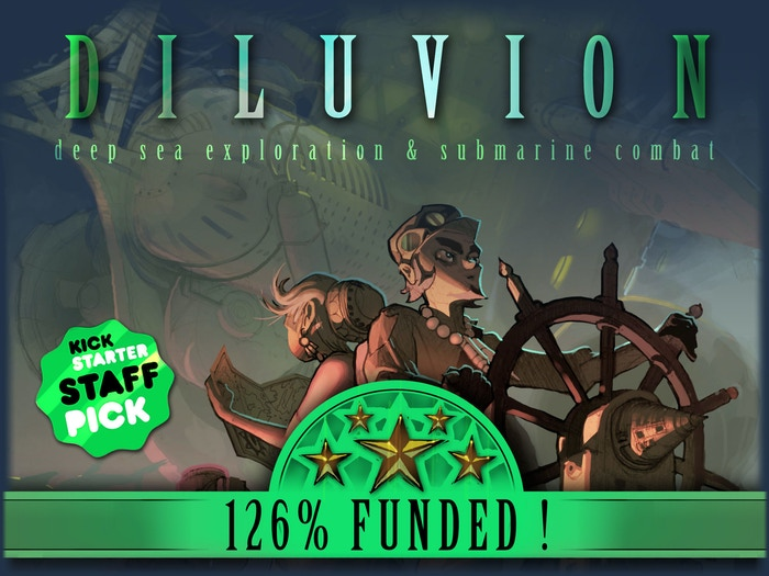 Take command of your submarine and gather a crew, explore the flooded world, and discover the secrets of Diluvion.
