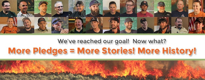 Help keep it going! Pledge today to enable The Smokey Generation to collect even more stories!