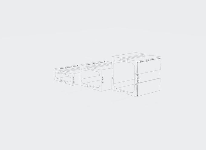 Block Dimensions Displayed