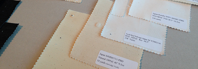Cotton samples by mail