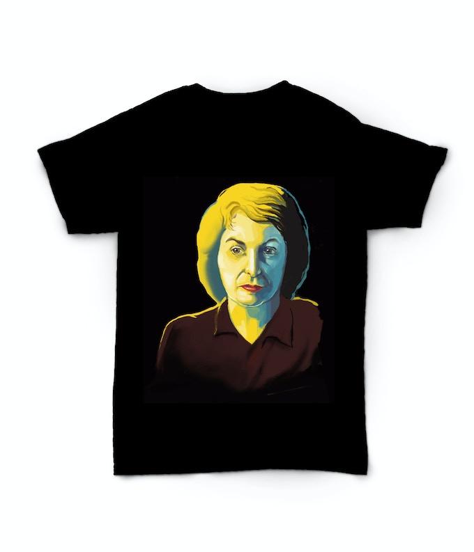 Original-design t-shirt offered as a Kickstarter reward