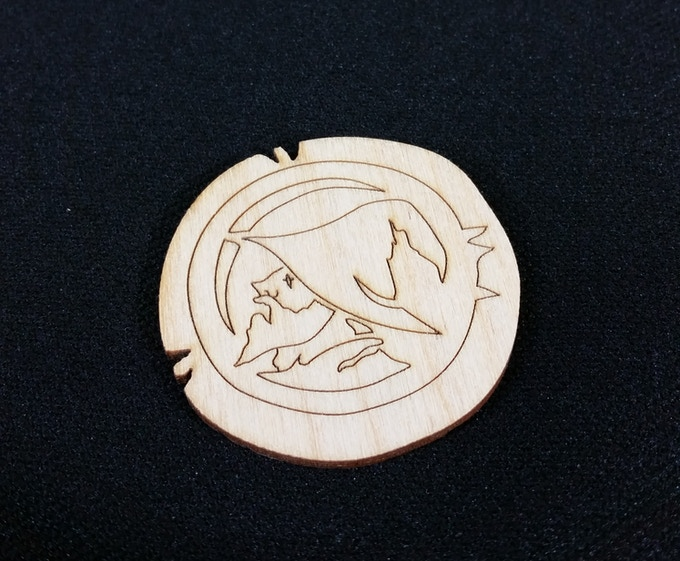 Wooden first player token