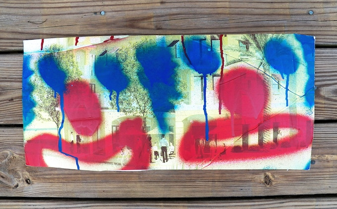$60 - DROID 907 hand-painted original