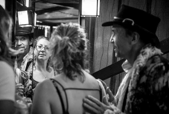 True Reflection Discovery with the cook's tour of the experience by John Walter! photo credit Dola Photography