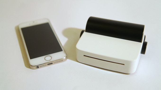 droPrinter & iPhone 5s