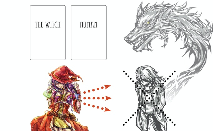 Players with Human faction cards win by killing every Werewolf. Werewolves: Just eat all Human players!