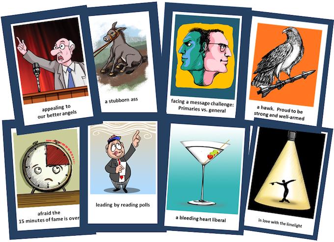 Example CARTOON Cards