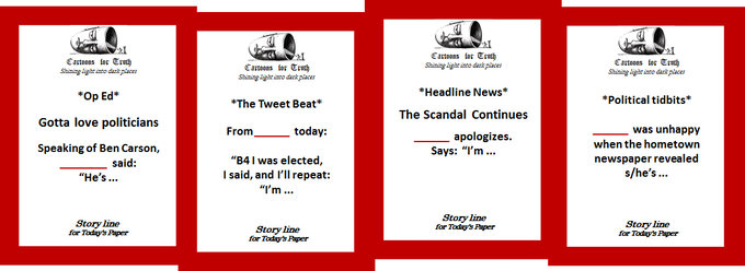 Example STORY LINE Cards