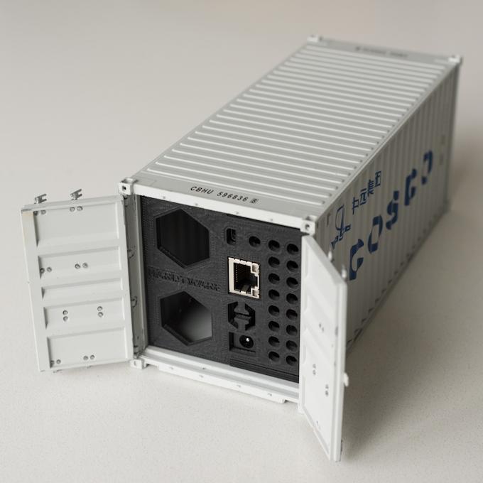 Desktop Container Computer