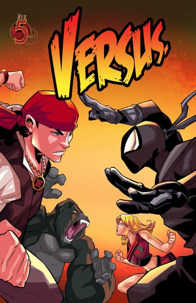 VERSUS #1 Cover