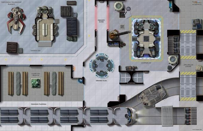 Offworld Transport Facility