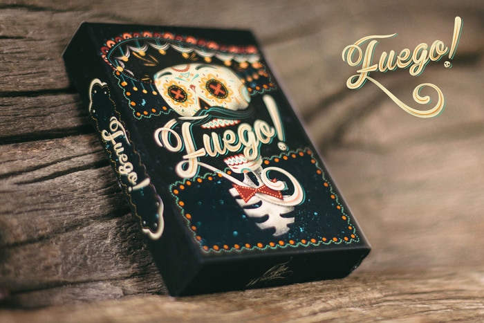 A limited print run playing card deck design that gives a fresh and modern take on the Day of the Dead tradition