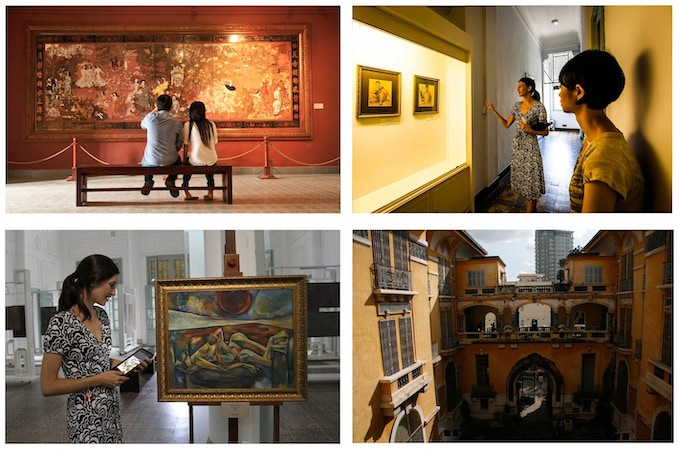 Images from Sophie's Art Tour