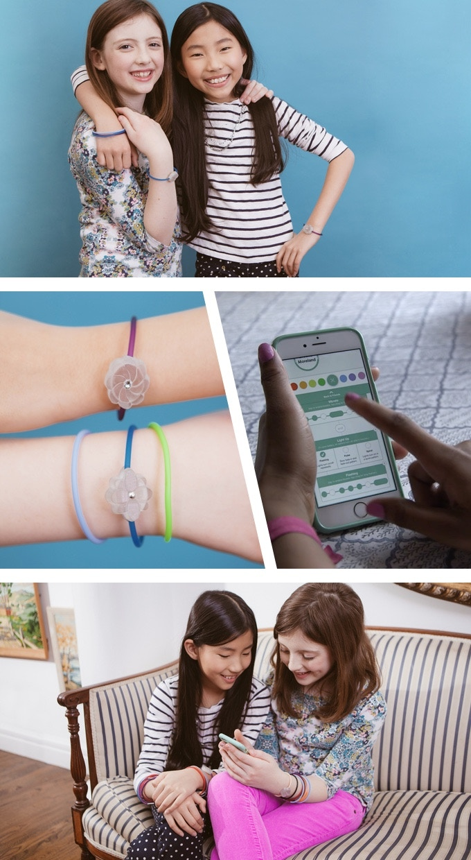 Jewelbots in action on real life teenagers