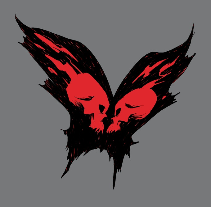 Skullfly tattoo