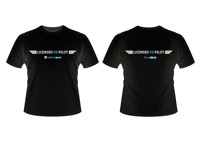 Get Your Own Cool Helicopter Pilot AdrenaPure T-shirt!