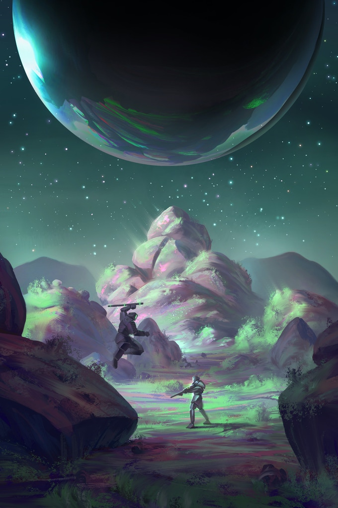 Duel, by Marius Janusonis