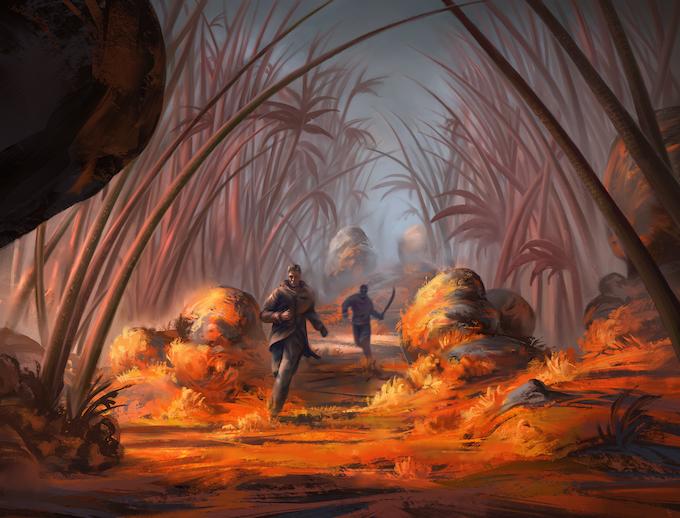 Jungle chase, by Marius Janusonis