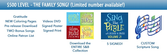 Slugs and Bugs / Sing the Bible (Vol  2) by Randall Goodgame