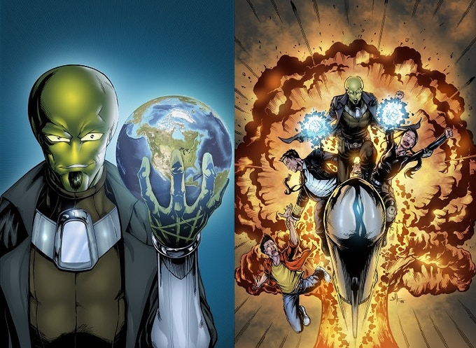 SID #1 and 3 covers